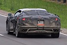 Automotive Mid-engined Chevy Corvette spied chirping its tires in acceleration tests