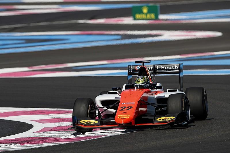 Dorian Boccolacci completa el triplete francés en la GP3