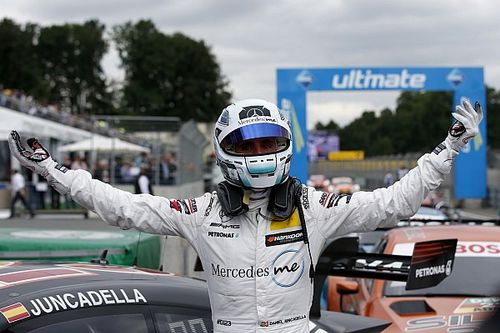 DTM Norisring: eerste pole Juncadella in Mercedes-feestje