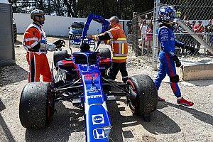 """""""最悪の母国GP""""1周目リタイアのガスリー失望「望んだ結果ではない」"""