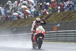 MotoGP Noticias de última hora Márquez cree que la Honda de 2016 era mejor que la actual en agua