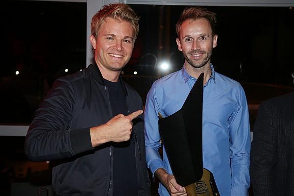 DTM Nico Rosberg bei Rene Rasts Meisterfeier: