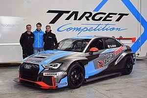 Giacomo Altoè a Monza con l'Audi di Target Competition