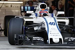 Formula 1 Breaking news Williams refusing to discuss Kubica's speed