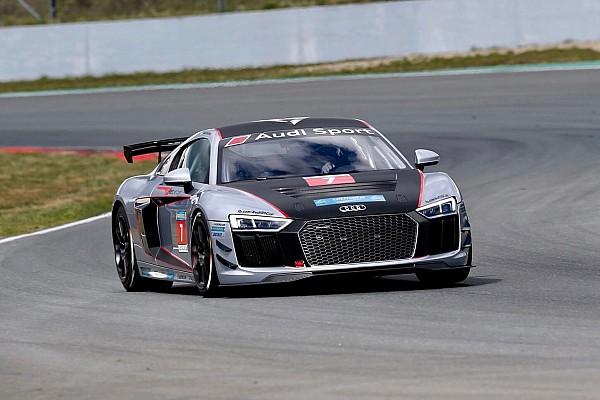Hazai Keszthelyi Vivien és az Audi R8 LMS: