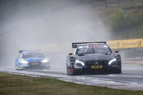 Pitlane chaos causes Hungaroring DTM stoppage