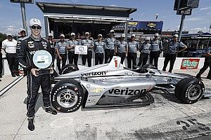 Newgarden lidera un triplete de Penske por la pole en Texas