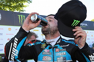 Michael Dunlop wins twice in Armoy despite broken pelvis
