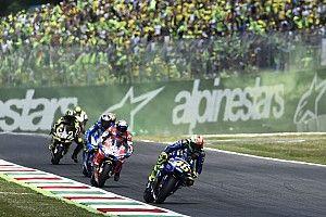 """Valentino Rossi auf Platz drei: """"Eines der härtesten Rennen aller Zeiten"""""""