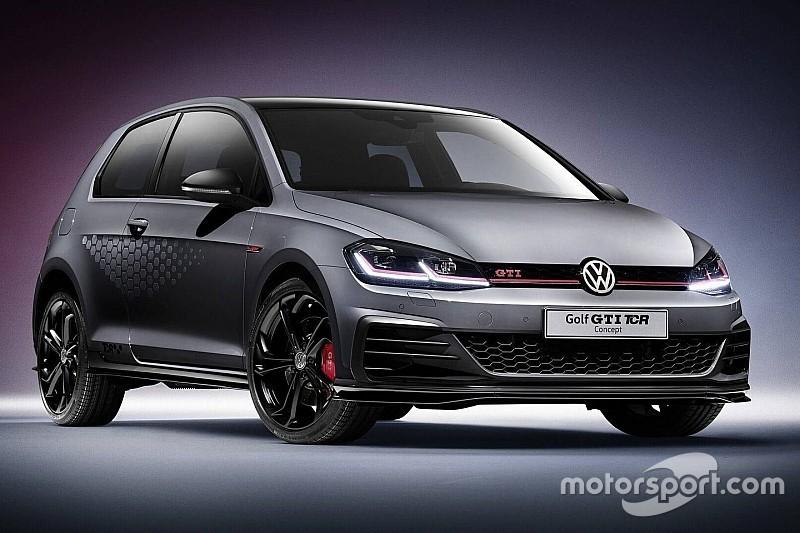 Il TCR scende in strada con la nuova Volkswagen Golf GTI TCR Concept