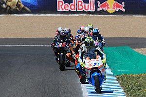 Baldassarri dominateur, Márquez à terre à Jerez