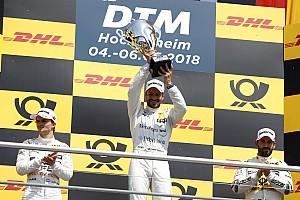 DTM Crónica de Carrera Paffett vence a  Auer para llevarse la primera victoria del DTM 2018