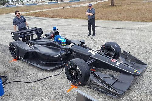 """L'IndyCar 2018, """"un vrai défi"""" pour Bourdais après son premier test"""