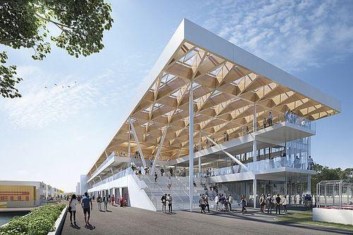 Rancangan gedung paddock baru sirkuit Gilles Villeneuve dipamerkan