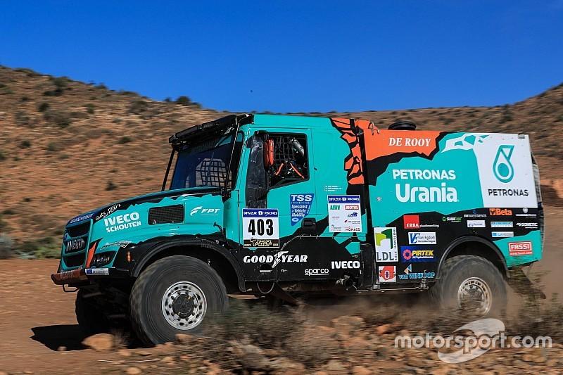 Van Ginkel in de problemen tijdens derde etappe Africa Eco Race