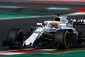 Williams sigue confiando en sus pilotos pese a la actuación de Kubica en el test