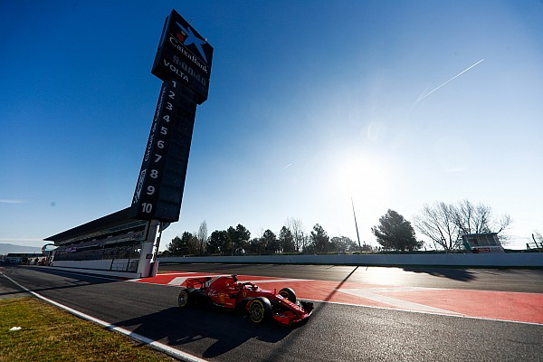 F1 季前测试最后一日上午:法拉利高居榜首,迈凯伦、雷诺出现问题
