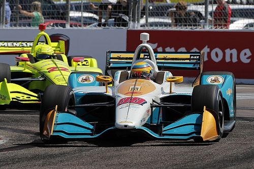 Harding Racing encouraged by IndyCar street course debut