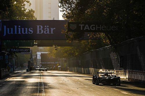 La grille de départ de l'E-Prix de Santiago