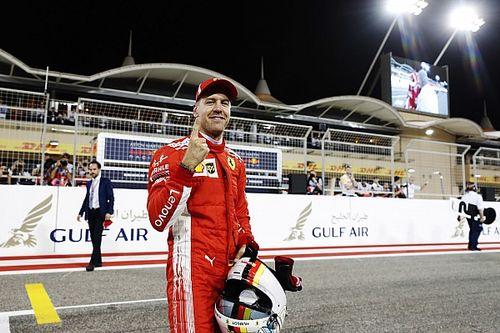 """Vettel: """"Una Ferrari così forte da monopolizzare la prima fila"""""""