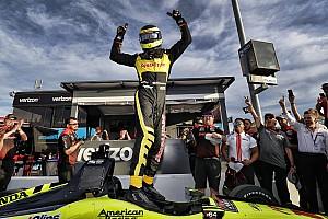 IndyCar Отчет о квалификации Бурдэ выиграл поул на овале в Финиксе