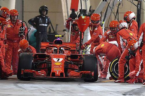Ferrari écope d'une simple amende pour l'incident des stands