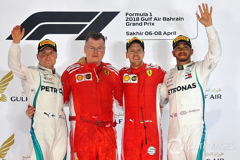 Bahrain GP: Vettel holds off Bottas to win, disaster for Red Bull