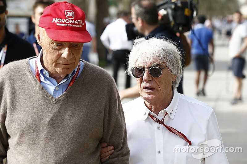 Ecclestone: Lauda, Abu Dhabi'ye gelebilir
