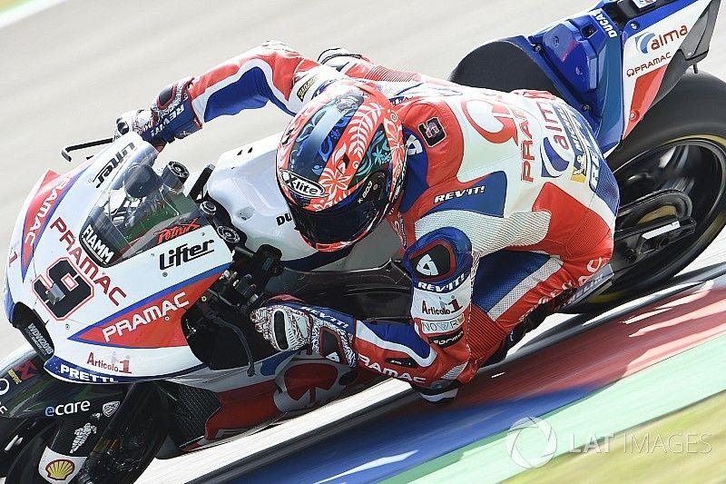 """Petrucci: """"La Ducati no es predecible en este circuito"""""""