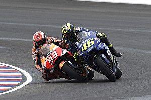 Yamaha: Rossi kini takut balapan dekat Marquez