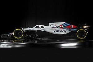 Compare os carros da Williams de 2017 e 2018