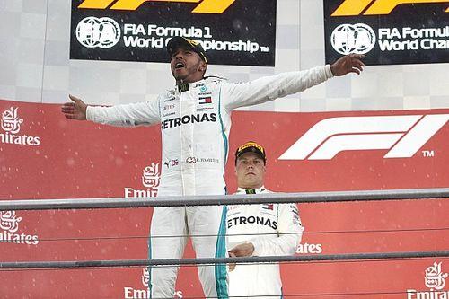 Hamilton putte motivatie uit boegeroep van Duitse fans