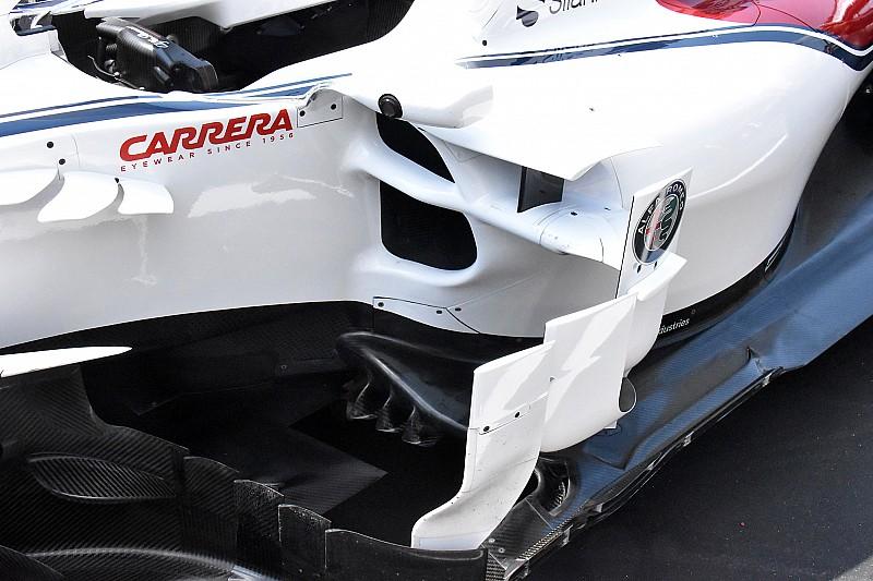 Sauber: quante novità sulla C37 che non ha solo la bocca superiore avanzata