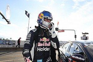 Ipswich Supercars: Van Gisbergen leads frantic second practice