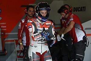 MotoGP Réactions Suite à son passage en Q1, Dovizioso a plus que limité les dégâts