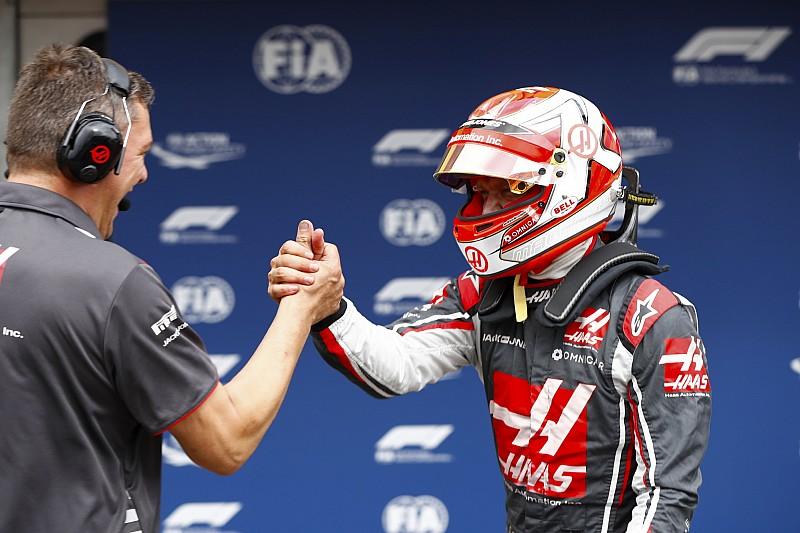 Haas exalta terceira fila em pista difícil para seu carro