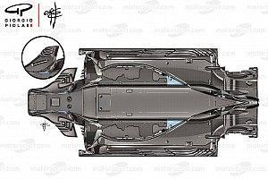 Ferrari: la Rossa tocca il... fondo per convogliare i vortici nel diffusore posteriore