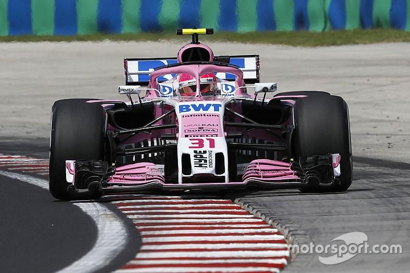 """Force India pilotları """"iflas"""" haberlerinin gölgesinde Macaristan için iyimser"""