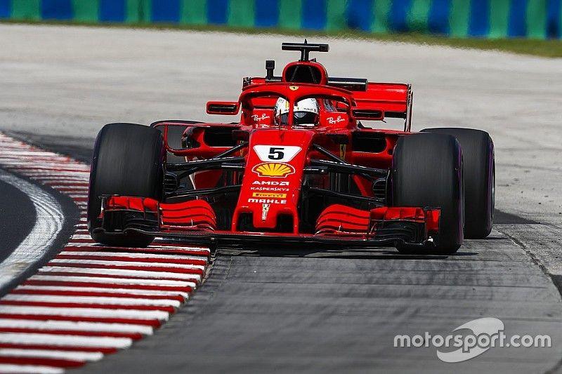 Vettel acaba liderando el viernes del GP de Hungría 2018