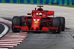 Formel 1 Ungarn 2018: Sebastian Vettel mit Bestzeit am Freitag
