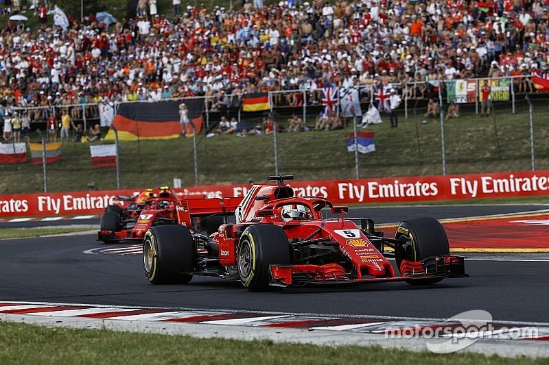 Ferrari masih simpan banyak potensi untuk sisa 2018 - Vettel