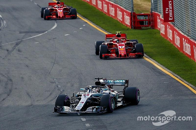 梅赛德斯认为法拉利引擎已处同一水平