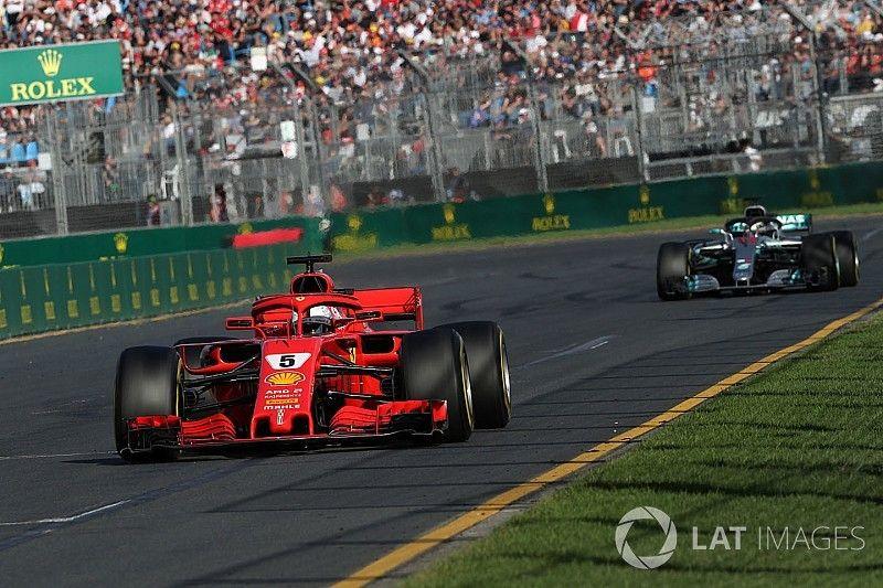 Vettel afirma que Ferrari aún no es un verdadero rival de Mercedes