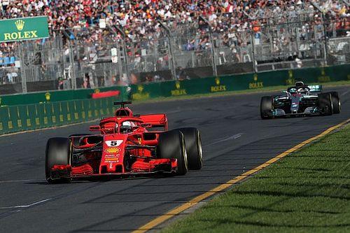 """Vettel: """"Hebben beetje geluk gehad met Safety Car"""""""