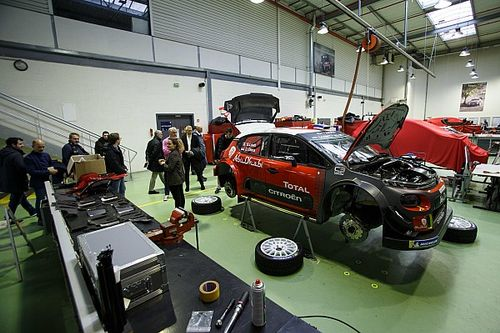 Fotogallery: Motorsport.com visita il Reparto Corse di Citroen e Peugeot