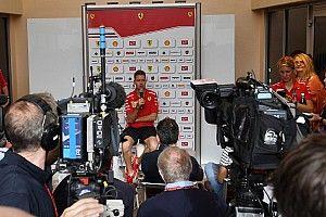 """Vettel: """"La Mercedes? E' ancora più veloce di 3 o 4 decimi della Rossa"""""""