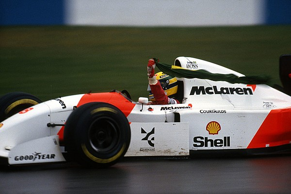 Vintage Son dakika Senna, Donington Tarihi Festivali'nde onurlandırılacak