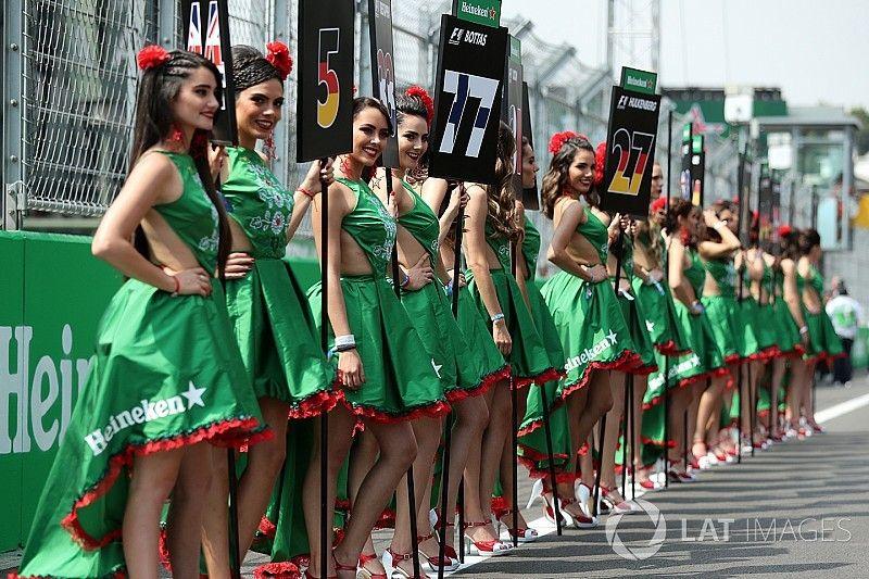 La F1 elimina las chicas de la parrilla
