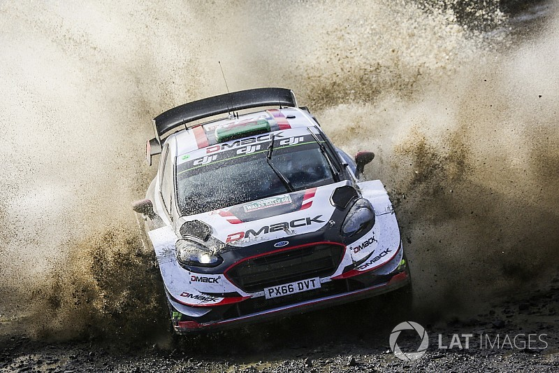 Rally Gran Bretagna: Evans domina e controlla. Ogier a un passo dal titolo!