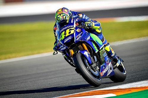 """Valentino Rossi fehlt in Valencia fast eine Sekunde: """"Wir leiden hier sehr"""""""